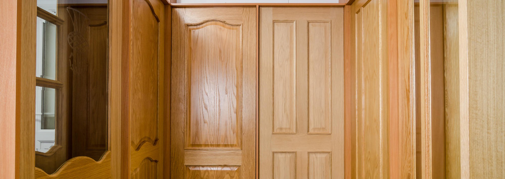 Solid Oak Veneer Doors & Complete Door Store Edinburgh Fife and the Lothians